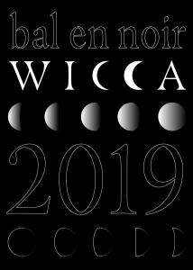 Bal en noir Wicca 2019